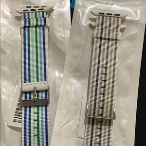 Lot of 2 42mm iwatch bands new in box